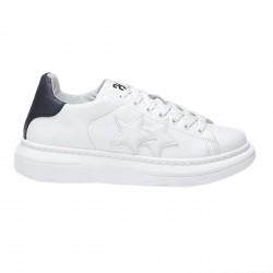 Sneakers 2Star Low pour hommes blanc-noir
