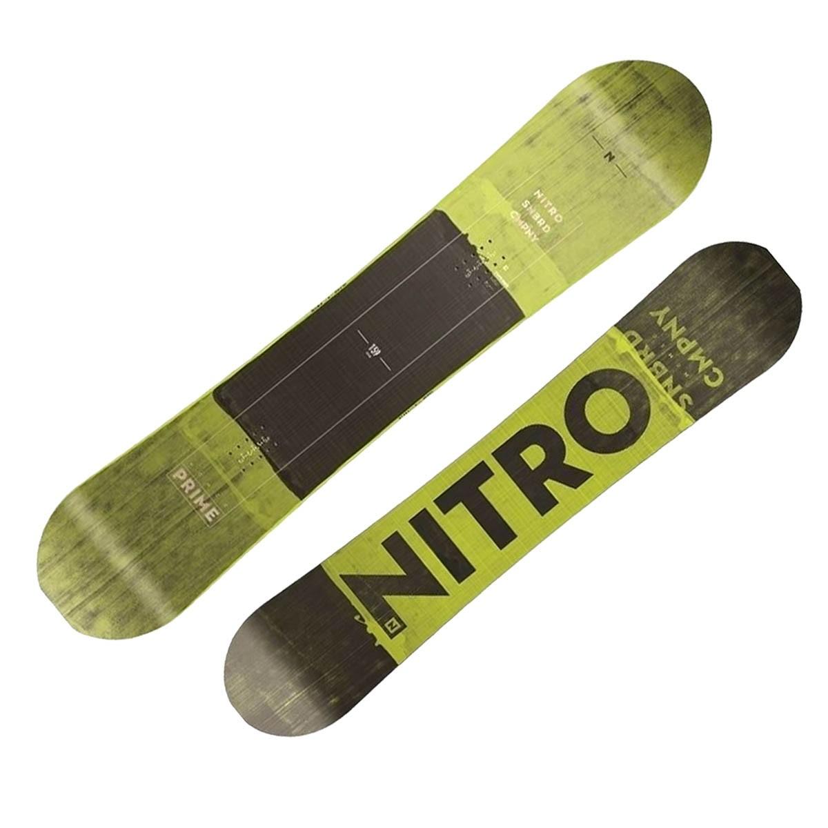 Snowboard Nitro Toxic Wide (Colore: nero-giallo, Taglia: 163)
