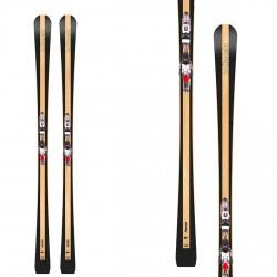 Ski Bottero Ski Prestige avec plaque Vist X-Step et fixation Vist VSP412