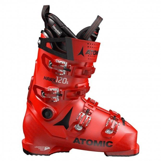 Scarponi sci Atomic Hawx Prime 120 S rosso-nero