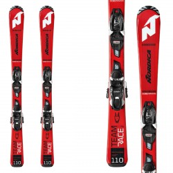 Nordica Ski Team Race Fdt 100-140 with Jr 4.5 Fdt bindings