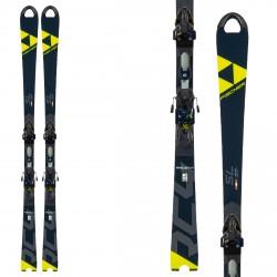 Ski Fischer RC4 WC SL Hommes Curv Booster avec fixations Z13