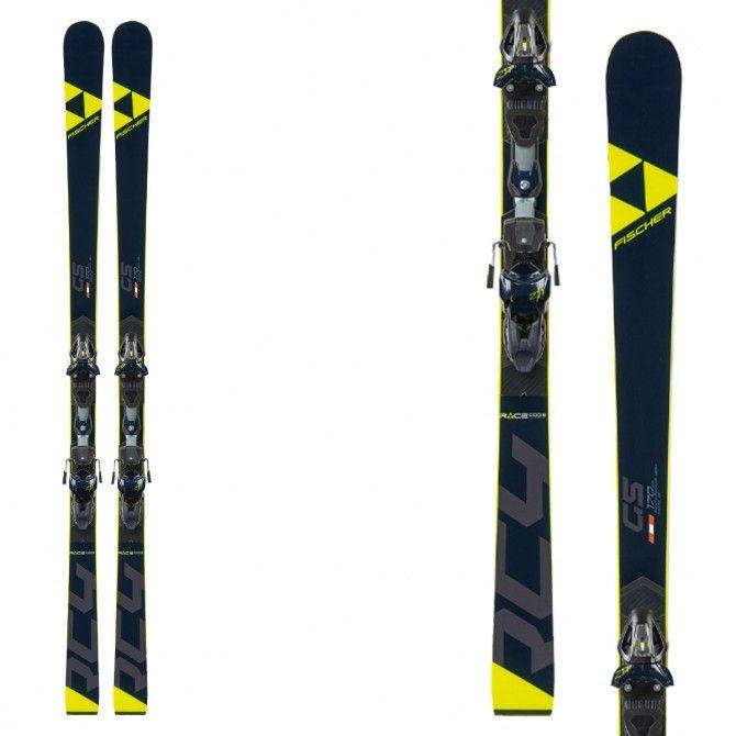 Ski Fischer RC4 WC GS Jr Curv Booster con fijaciones Rc4 Z13