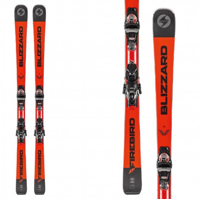 Sci Blizzard Firebird ti con attacchi Tpc 10 Demo black-orange