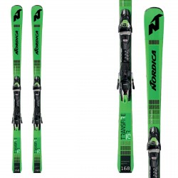 Nordica Ski Transfire 75 R Crx Fdt with bindings Tp2 Compact 10 FDt