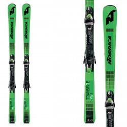 Sci Nordica Transfire 75 R Crx Fdt + attacchi Tp2 Compact 10 FDt verde-nero