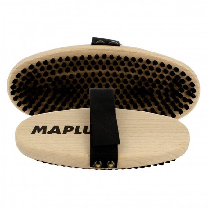 Spazzola Maplus manuale ovale in crine duro unico