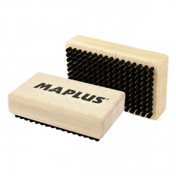 Manual Maplus brush in hard horsehair