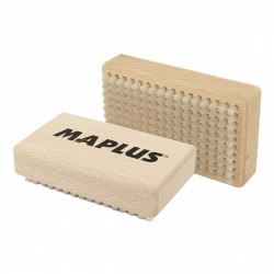 Manual Maplus brush in hard nylon