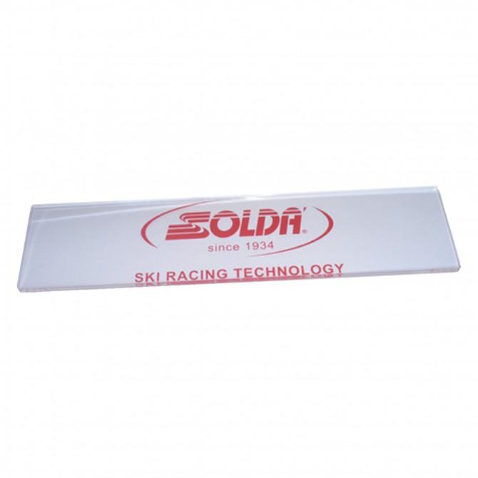 spatole plexiglass Soldà snowboard unico