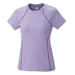 t-shirt trail running Columbia Coolest Cool femme