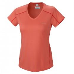 Trail running t-shirt Columbia Zero Rules Woman