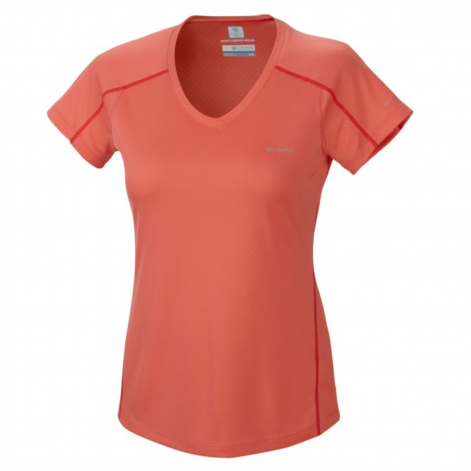 t-shirt trail running Columbia Zero Rules Donna