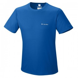 t-shirt trail running Columbia Zero Rules man