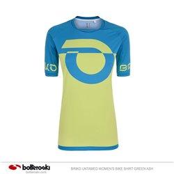 T-shirt Ciclismo Briko Green Ash