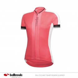 Camisa de ciclismo RH + Roadie W Jersey Mujer