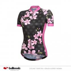 Camiseta de ciclismo RH + Venus W Jersey Mujer