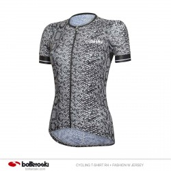 Maglia ciclismo da donna RH+ Fashion W Jersey