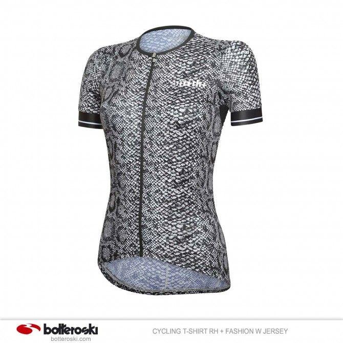 Camiseta de ciclismo RH + Fashion W Maillot