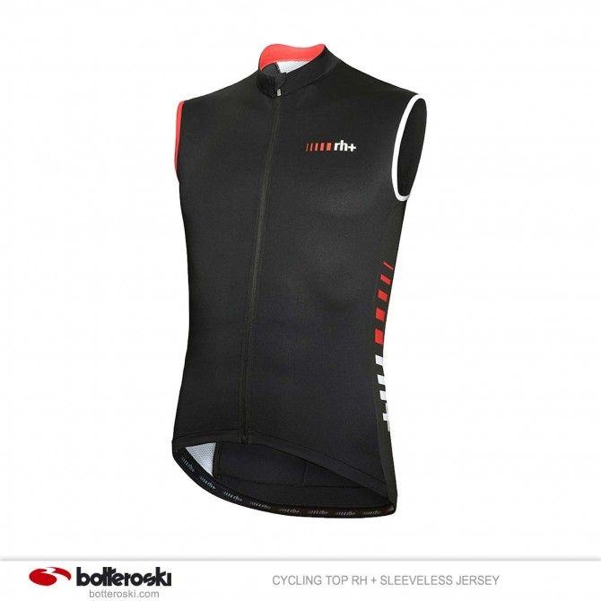 Camiseta de ciclismo sin mangas RH + Jersey Sleeveless
