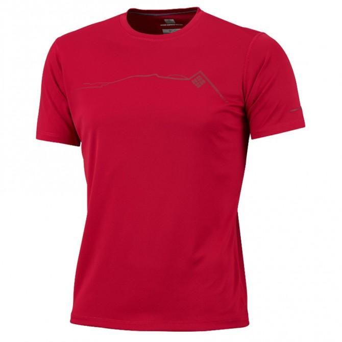 t-shirt trail running Columbia Zero Rules Graphic Uomo