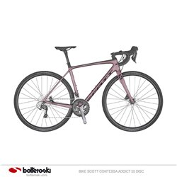 Bike Scott Contessa Addict 35 disc