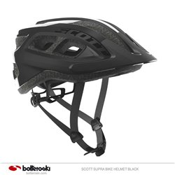 casco bike Scott Supra black