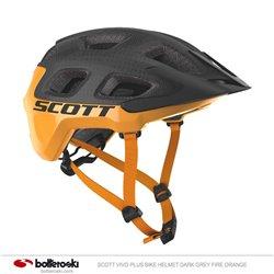 Casco Bike Scott Vivo Plus dark grey/fire orange
