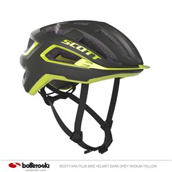 Casco Bike Scott Arx Puls dark grey/radium yellow