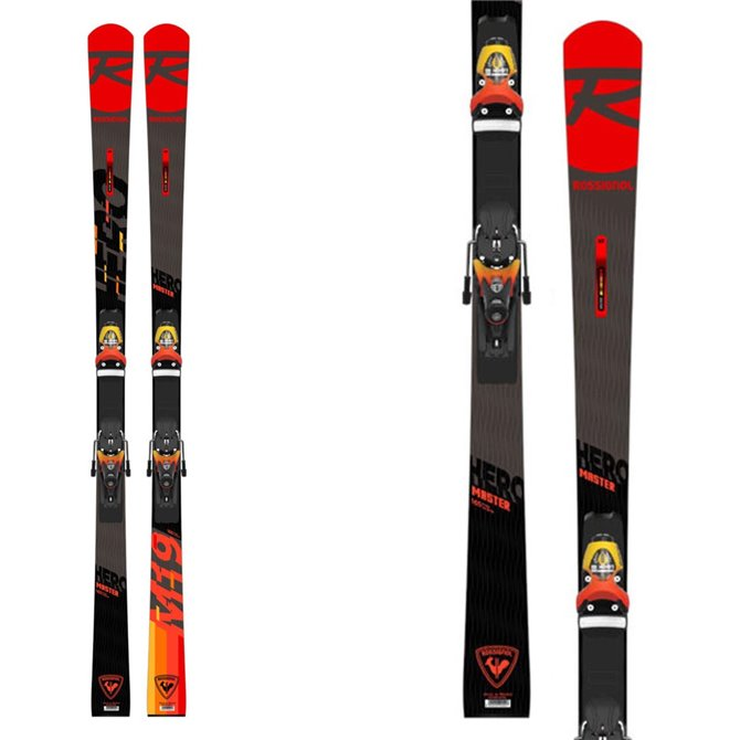Ski Rossignol Hero Master modèle 2021 avec fixations Spx 15 Rockerace