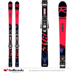 Ski Rossignol Hero Athlete GS Pro model 2021 with Spx 10 Gw B73 bindings