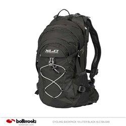 XLC BA-S4 Black 18 liter cycling backpack