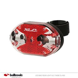 Luce posteriore bici LED XLC Thebe CL-R02