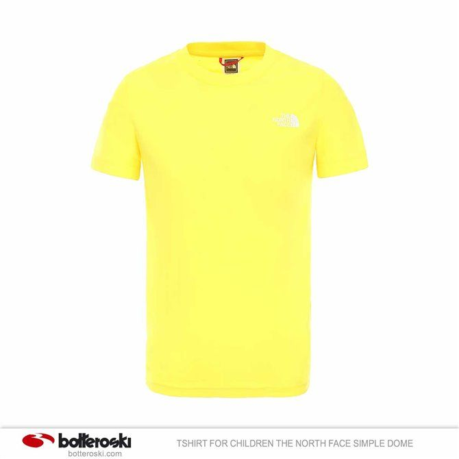 Tshirt for children The North Face Simple Dome