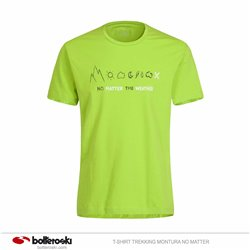 T-shirt trekking Montura No Matter MONTURA Abbigliamento outdoor junior