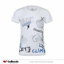 T-shirt Trekking Montura Freedom MONTURA Abbigliamento outdoor junior