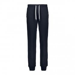 Pantaloni in felpa da donna Cmp Blu con lacci