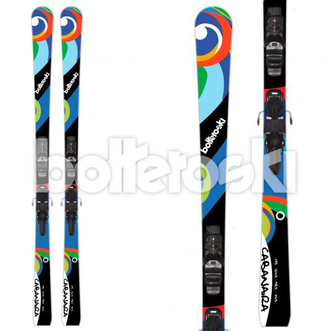 sci Bottero Ski Cabanaira + attacchi V412 Free LTD