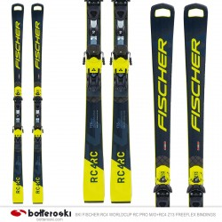 Ski Fischer RC4 Worldcup RC Pro M / O avec fixations RC4 Z13 Freeflex