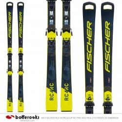 Ski Fischer RC4 Worldcup RC Pro M / O con fijaciones RC4 Z13 Freeflex