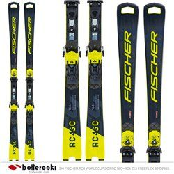 Ski Fischer RC4 Worldcup SC Pro M / O with bindings RC4 Z13 Freeflex