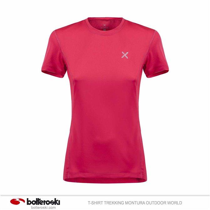 T-shirt trekking Montura World mujer