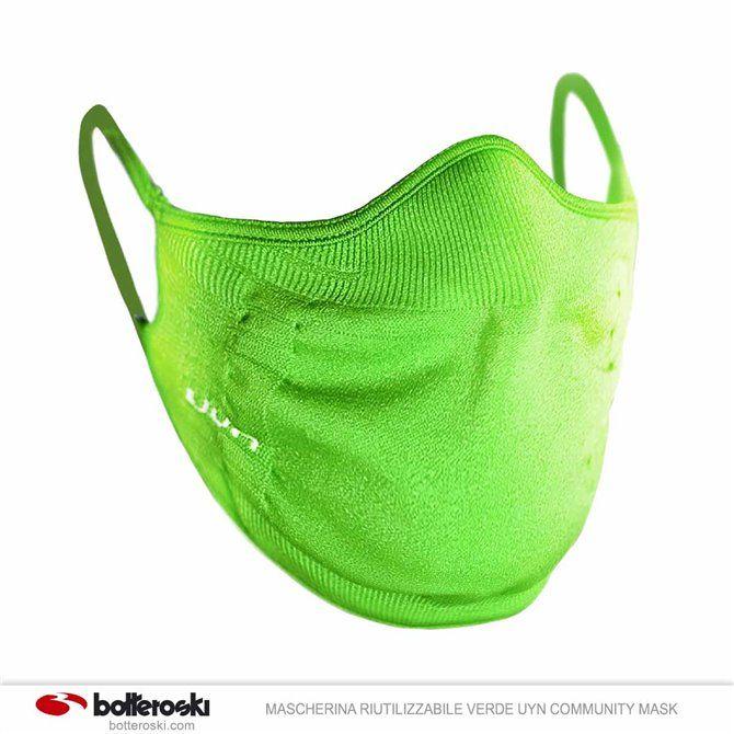 Masque réutilisable verte Uyn Community Mask