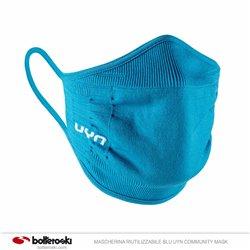 Mascherina riutilizzabile blu Uyn Community Mask