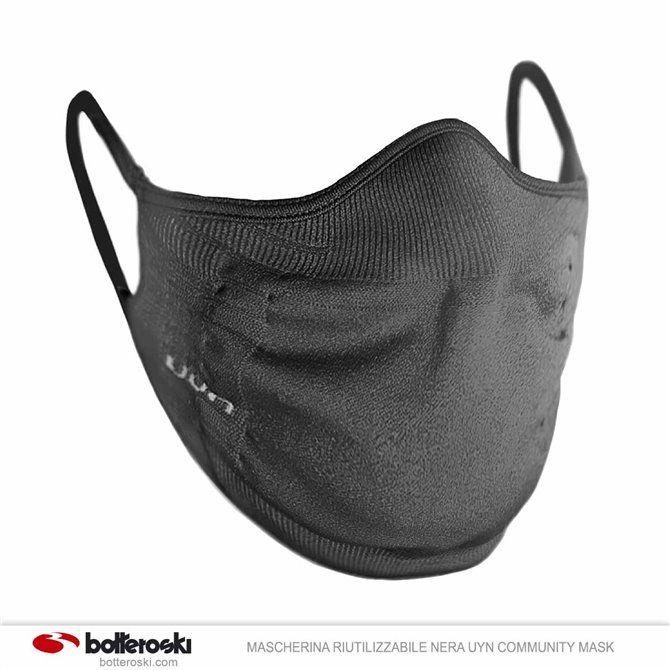 Máscara reutilizable negro Uyn Community Mask