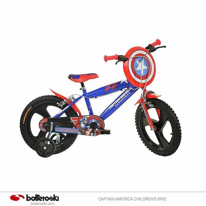 Bcicletta Dino 16Capitan America