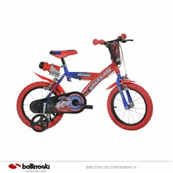 Children's bike Spiderman 14