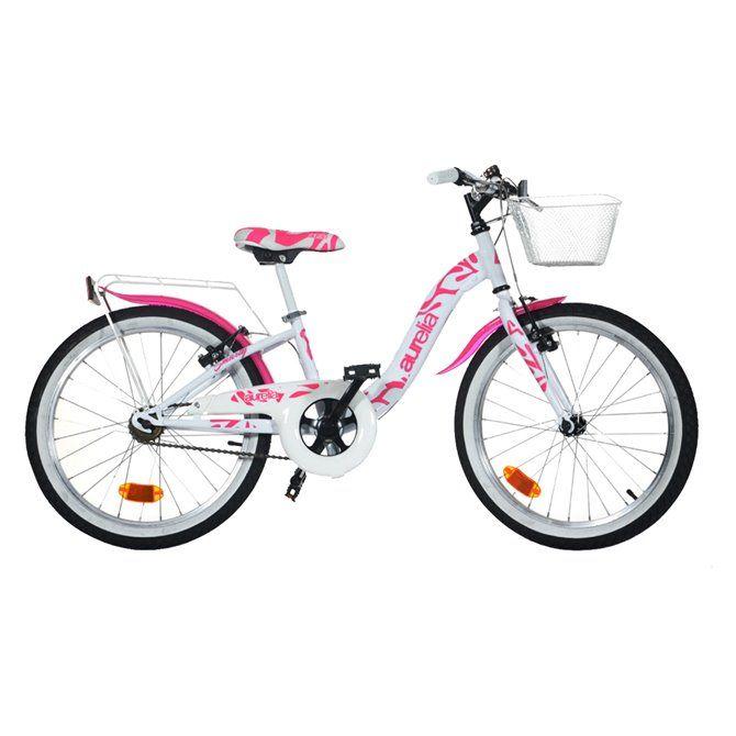 Bici da bambina Aurelia 20 Bianca - modello 2020