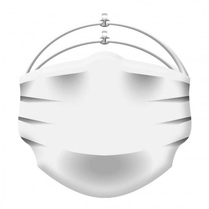 Mascherina facciale uso medico Energiapura bianco