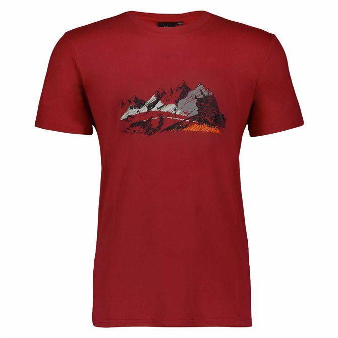 T-shirt da uomo Cmp - Salsa